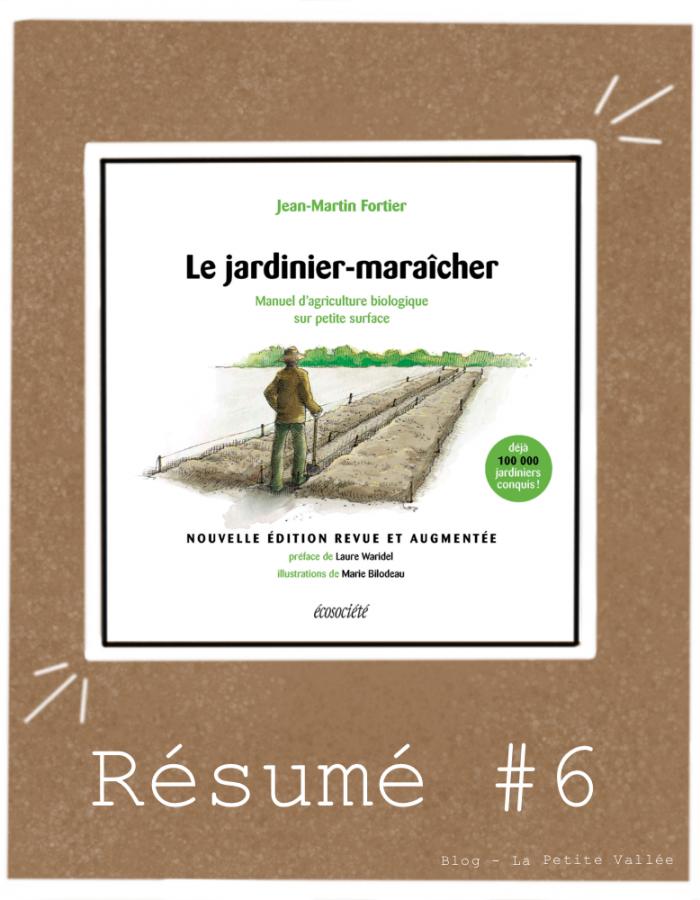 Résumé livre Fortier jardinier maraicher