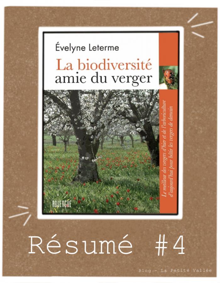 Résumé livre Leterme verger biodiversité