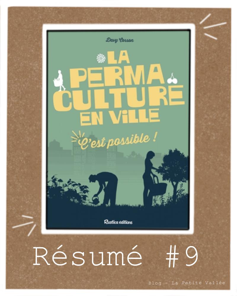 Résumé livre cosson permaculture ville