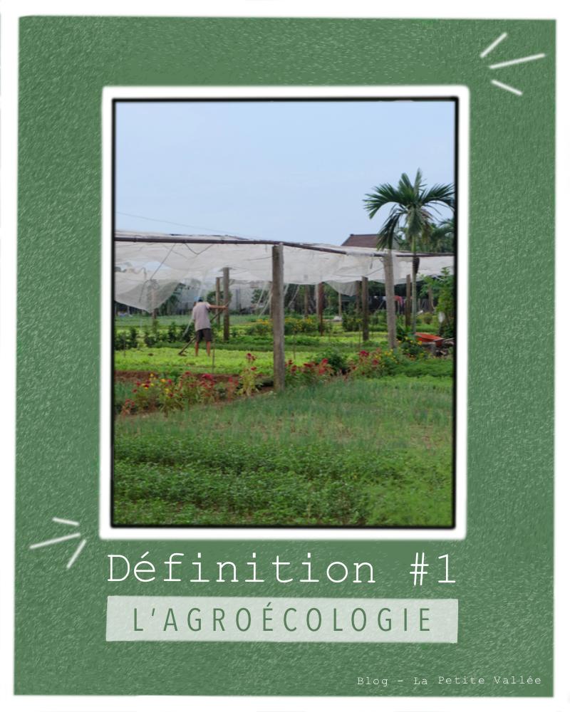 Définition agroécologie